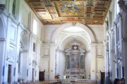 Церковь мч. Севастиана, неподалеку от входа в катакомбы