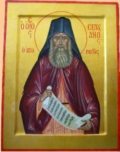 Преподобный Силуан Афонский (2002 г.)
