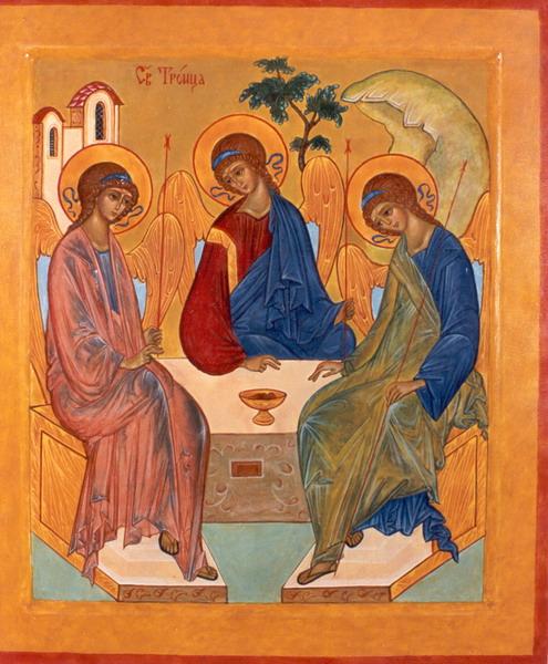 Икона Пресвятой Троицы (1993 г.)